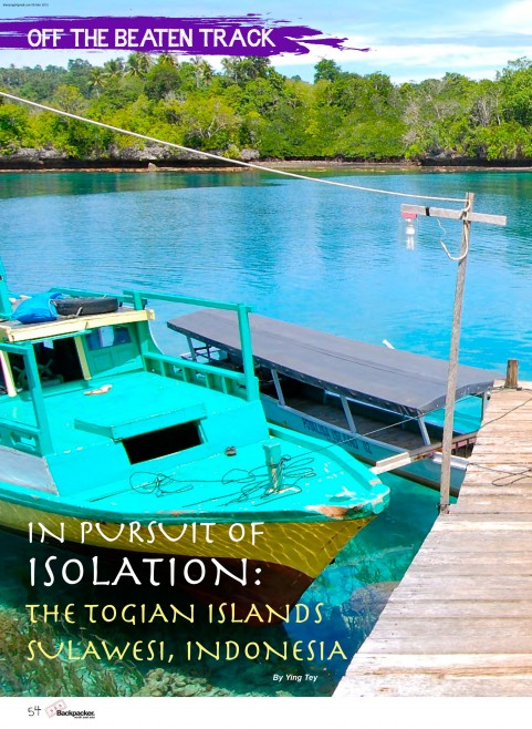 In Pursuit Of Isolation: The Togian Islands, Sulawesi